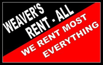 Our Partner - Weaver's Rent-All
